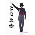 Adam Hall drag king by emma bailey Artist Photographer